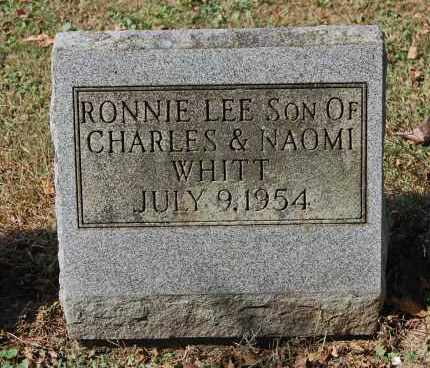 WHITT, RONNIE LEE - Gallia County, Ohio | RONNIE LEE WHITT - Ohio Gravestone Photos