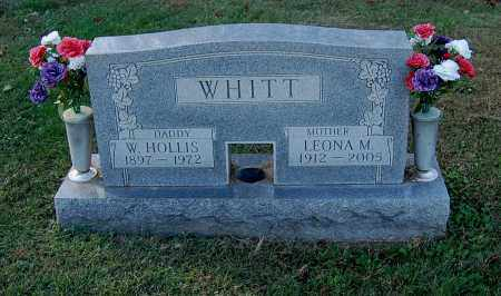 WHITT, W. HOLLIS - Gallia County, Ohio | W. HOLLIS WHITT - Ohio Gravestone Photos