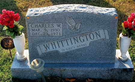WHITTINGTON, CHARLES W - Gallia County, Ohio | CHARLES W WHITTINGTON - Ohio Gravestone Photos