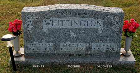 WHITTINGTON, WILMA D - Gallia County, Ohio | WILMA D WHITTINGTON - Ohio Gravestone Photos