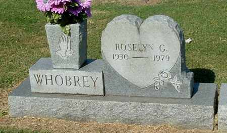 WHOBREY, ROSELYN G - Gallia County, Ohio | ROSELYN G WHOBREY - Ohio Gravestone Photos