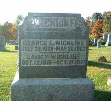 WICKLINE, GEORGE L. - Gallia County, Ohio | GEORGE L. WICKLINE - Ohio Gravestone Photos
