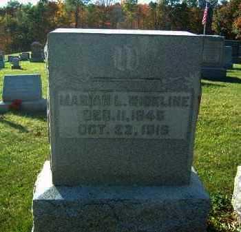 WICKLINE, MARIAH - Gallia County, Ohio | MARIAH WICKLINE - Ohio Gravestone Photos