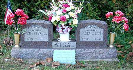 WIGAL, ALTA JEAN - Gallia County, Ohio | ALTA JEAN WIGAL - Ohio Gravestone Photos