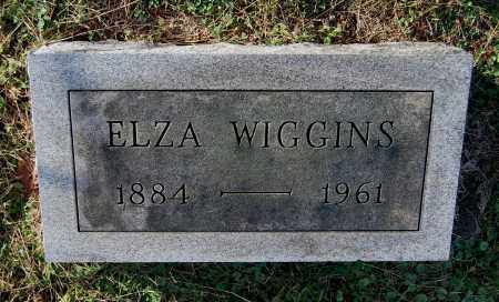 WIGGINS, ELZA - Gallia County, Ohio | ELZA WIGGINS - Ohio Gravestone Photos