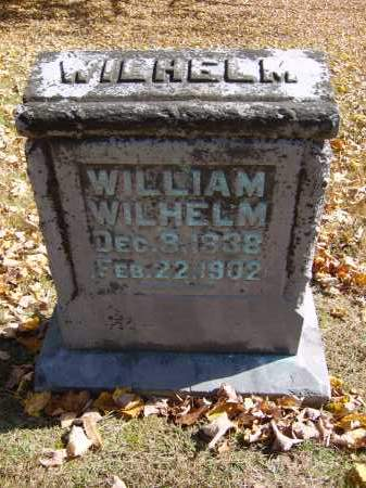 WILHELM, WILLIAM - Gallia County, Ohio | WILLIAM WILHELM - Ohio Gravestone Photos