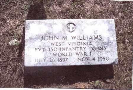 WILLIAMS, JOHN M. - Gallia County, Ohio | JOHN M. WILLIAMS - Ohio Gravestone Photos