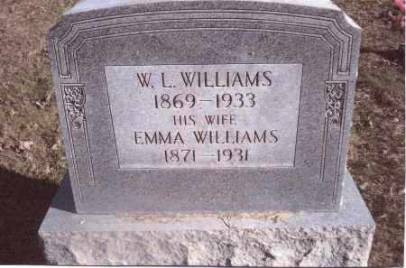 WILLIAMS, EMMA - Gallia County, Ohio | EMMA WILLIAMS - Ohio Gravestone Photos