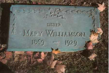 WILLIAMSON, MARY - Gallia County, Ohio | MARY WILLIAMSON - Ohio Gravestone Photos