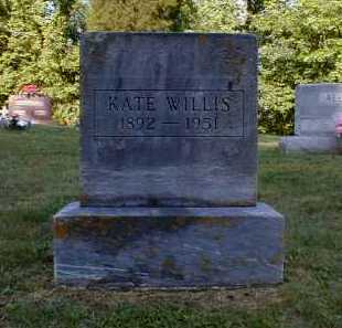 WILLIS, KATE - Gallia County, Ohio | KATE WILLIS - Ohio Gravestone Photos