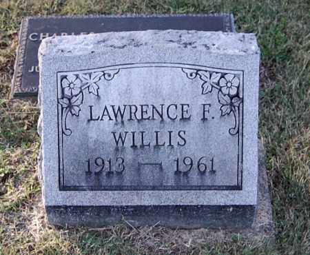 WILLIS, LAWRENCE F - Gallia County, Ohio | LAWRENCE F WILLIS - Ohio Gravestone Photos