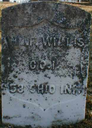 WILLIS, WILLIAM - Gallia County, Ohio | WILLIAM WILLIS - Ohio Gravestone Photos