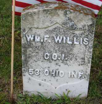 WILLIS, WILLIAM F. - Gallia County, Ohio | WILLIAM F. WILLIS - Ohio Gravestone Photos