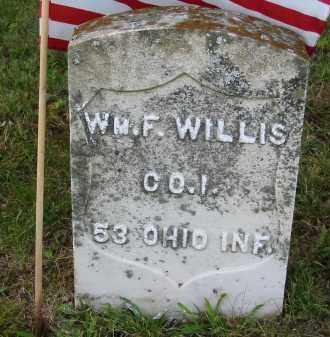 WILLIS, WILLIAM F. - Gallia County, Ohio | WILLIAM F. WILLIS - Ohio Gravestone Photos