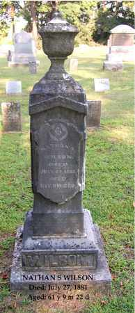 WILSON, NATHAN S - Gallia County, Ohio | NATHAN S WILSON - Ohio Gravestone Photos