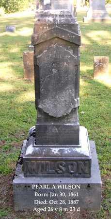 WILSON, PEARL A - Gallia County, Ohio | PEARL A WILSON - Ohio Gravestone Photos