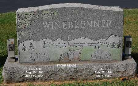 WINEBRENNER, DALE G - Gallia County, Ohio | DALE G WINEBRENNER - Ohio Gravestone Photos