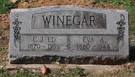 SWISHER WINEGAR, EVA A - Gallia County, Ohio | EVA A SWISHER WINEGAR - Ohio Gravestone Photos