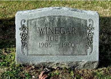 WINEGAR, JOE E - Gallia County, Ohio | JOE E WINEGAR - Ohio Gravestone Photos