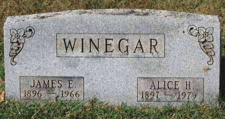 WINEGAR, ALICE H - Gallia County, Ohio | ALICE H WINEGAR - Ohio Gravestone Photos