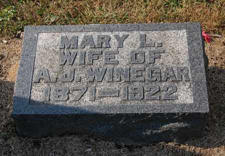 ROUSH WINEGAR, MARY LEOTA - Gallia County, Ohio | MARY LEOTA ROUSH WINEGAR - Ohio Gravestone Photos