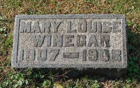 WINEGAR, MARY LOUISE - Gallia County, Ohio | MARY LOUISE WINEGAR - Ohio Gravestone Photos