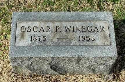 WINEGAR, OSCAR PAUL - Gallia County, Ohio | OSCAR PAUL WINEGAR - Ohio Gravestone Photos