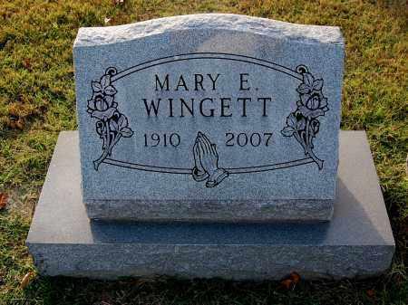 WINGETT, MARY E - Gallia County, Ohio | MARY E WINGETT - Ohio Gravestone Photos