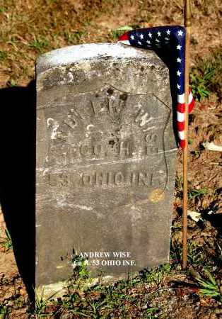 WISE, ANDREW - Gallia County, Ohio | ANDREW WISE - Ohio Gravestone Photos