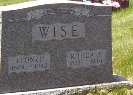 WISE, ALONZO - Gallia County, Ohio | ALONZO WISE - Ohio Gravestone Photos