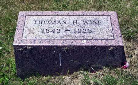 WISE, THOMAS H. - Gallia County, Ohio | THOMAS H. WISE - Ohio Gravestone Photos