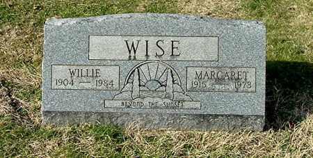 WISE, WILLIE - Gallia County, Ohio | WILLIE WISE - Ohio Gravestone Photos