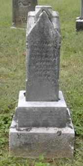 WISEMAN, FANNA - Gallia County, Ohio | FANNA WISEMAN - Ohio Gravestone Photos