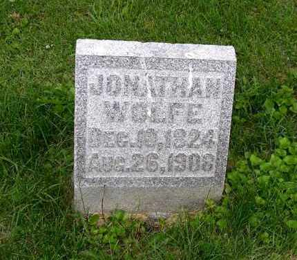 WOLFE, JONATHAN - Gallia County, Ohio | JONATHAN WOLFE - Ohio Gravestone Photos