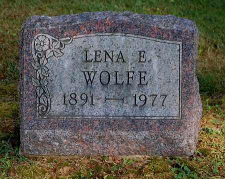 WOLFE, LENA E - Gallia County, Ohio | LENA E WOLFE - Ohio Gravestone Photos