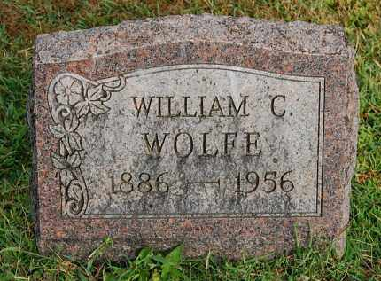 WOLFE, WILLIAM C - Gallia County, Ohio | WILLIAM C WOLFE - Ohio Gravestone Photos