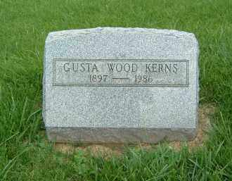 WOOD-KERNS, GUSTA - Gallia County, Ohio | GUSTA WOOD-KERNS - Ohio Gravestone Photos