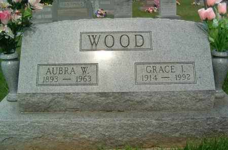 WOOD, AUBRA W. - Gallia County, Ohio | AUBRA W. WOOD - Ohio Gravestone Photos