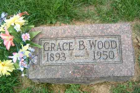 WOOD, GRACE B. - Gallia County, Ohio | GRACE B. WOOD - Ohio Gravestone Photos