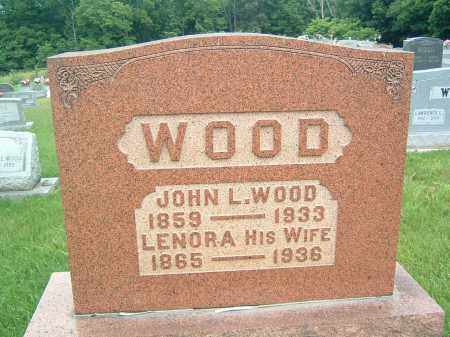 WOOD, JOHN L - Gallia County, Ohio | JOHN L WOOD - Ohio Gravestone Photos