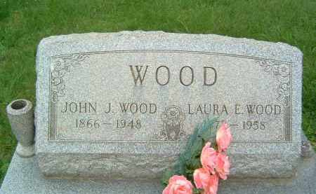 WOOD, LAURA E. - Gallia County, Ohio | LAURA E. WOOD - Ohio Gravestone Photos