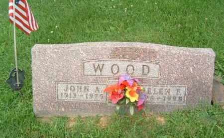 WOOD, HELEN F. - Gallia County, Ohio | HELEN F. WOOD - Ohio Gravestone Photos