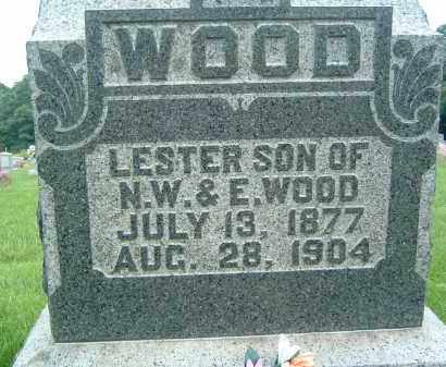 WOOD, LESTER - Gallia County, Ohio | LESTER WOOD - Ohio Gravestone Photos