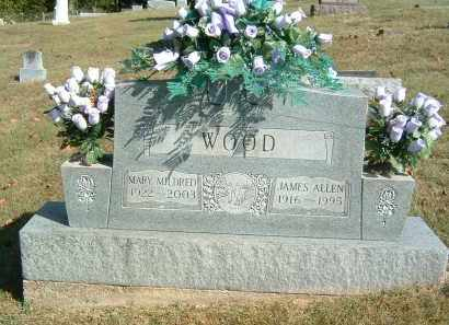 WOOD, JAMES ALLEN - Gallia County, Ohio | JAMES ALLEN WOOD - Ohio Gravestone Photos