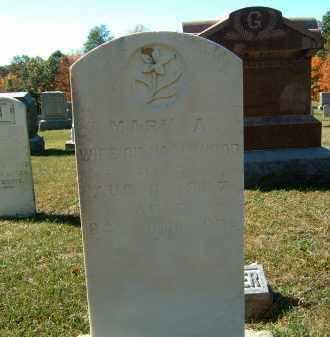WOOD, MARY A - Gallia County, Ohio | MARY A WOOD - Ohio Gravestone Photos
