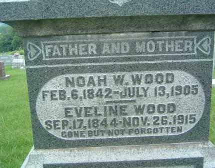 WOOD, EVELINE - Gallia County, Ohio | EVELINE WOOD - Ohio Gravestone Photos