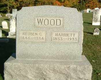WOOD, REUBEN C. - Gallia County, Ohio | REUBEN C. WOOD - Ohio Gravestone Photos