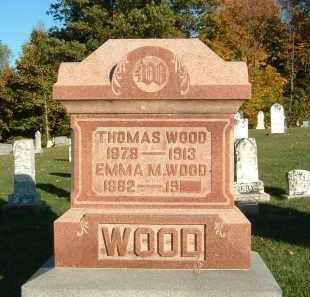 WOOD, EMMA M. - Gallia County, Ohio | EMMA M. WOOD - Ohio Gravestone Photos