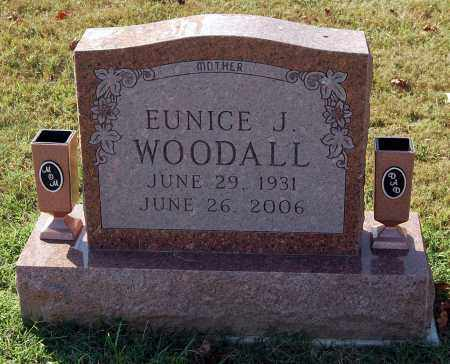 WOODALL, EUNICE J - Gallia County, Ohio | EUNICE J WOODALL - Ohio Gravestone Photos
