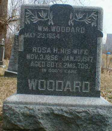 WOODARD, ROSA - Gallia County, Ohio | ROSA WOODARD - Ohio Gravestone Photos